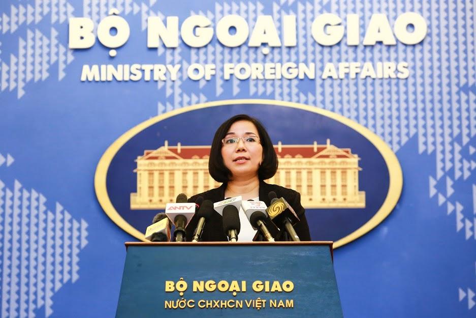 Việt Nam phản đối Đài Loan diễn tập bắn đạn thật ở Biển Đông - Ảnh 1