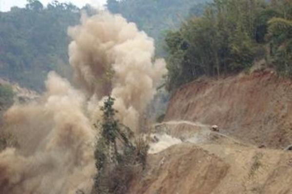 Nổ mìn khiến 3 người tử vong tại chỗ tại Cao Bằng - Ảnh 1