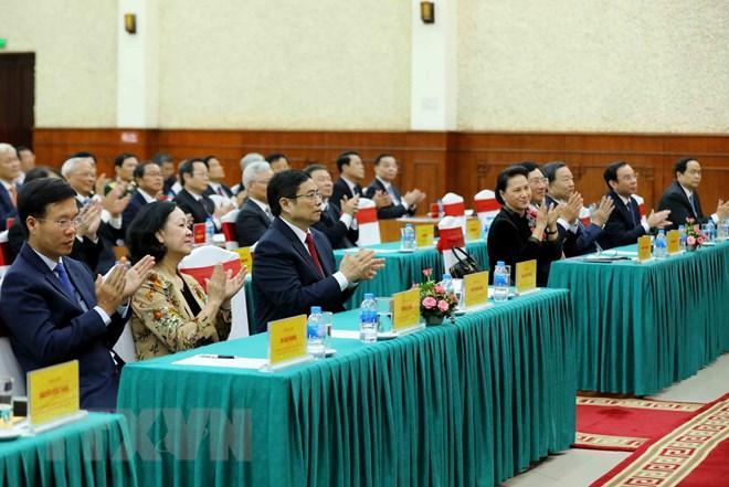 Khai giảng lớp bồi dưỡng kiến thức cho các Ủy viên Trung ương Đảng - Ảnh 2