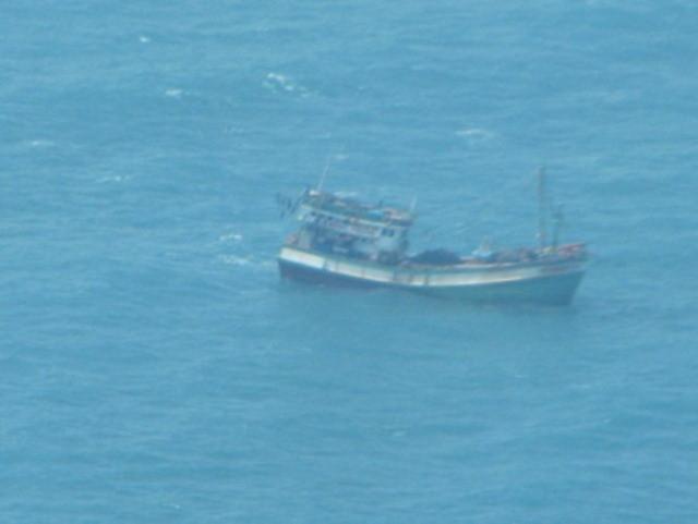 Tàu cá cùng 4 ngư dân mất tích bí ẩn trên biển - Ảnh 1