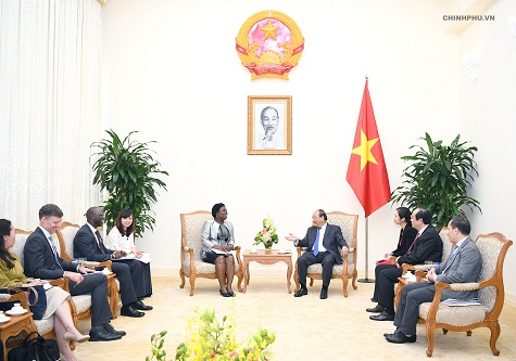 Thủ tướng tiếp Phó Chủ tịch WB phụ trách khu vực Đông Á-Thái Bình Dương - Ảnh 2