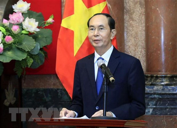 Thái Lan sẽ treo cờ rủ tưởng niệm Chủ tịch nước Trần Đại Quang - Ảnh 1