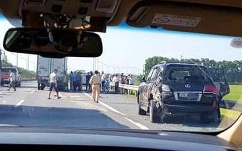 Vụ tài xế Lexus bị tông tử vong: CSGT được dừng phương tiện tại vị trí nào trên cao tốc? - Ảnh 1