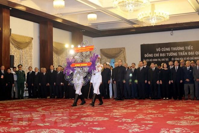 Lễ viếng Chủ tịch nước Trần Đại Quang - Ảnh 30