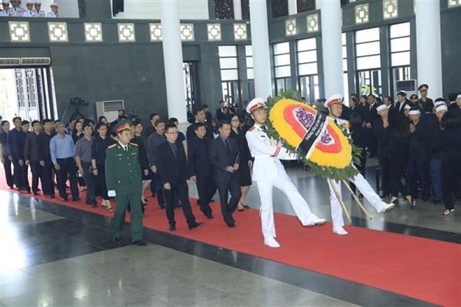 Lễ viếng Chủ tịch nước Trần Đại Quang - Ảnh 27
