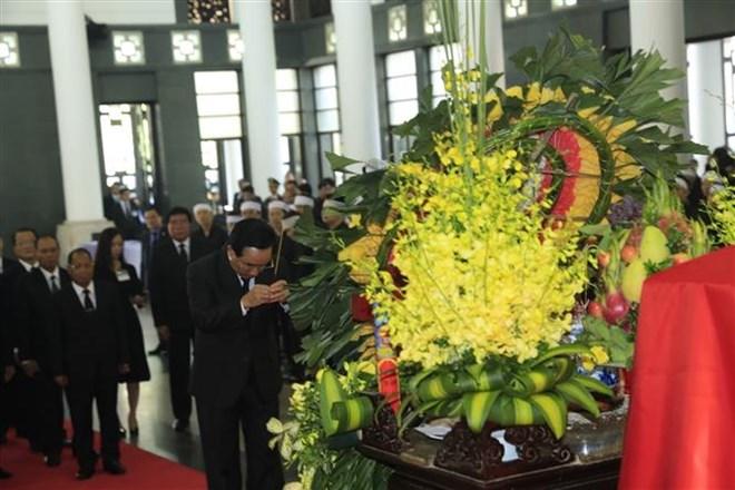 Lễ viếng Chủ tịch nước Trần Đại Quang - Ảnh 8