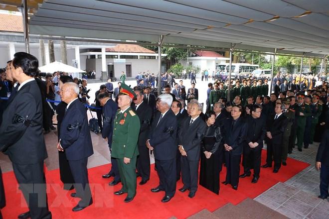 Lễ viếng Chủ tịch nước Trần Đại Quang - Ảnh 76