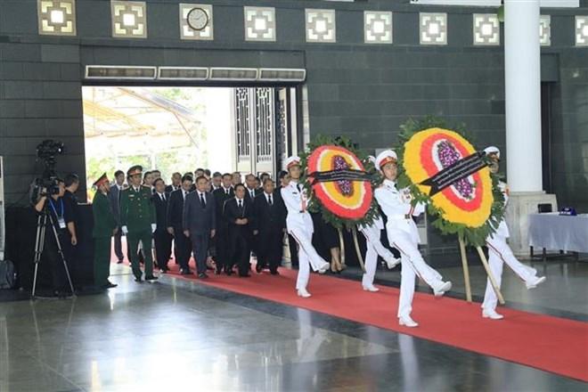 Lễ viếng Chủ tịch nước Trần Đại Quang - Ảnh 9