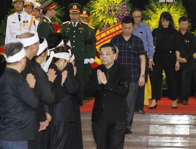 Lễ viếng Chủ tịch nước Trần Đại Quang - Ảnh 1