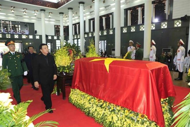 Lễ viếng Chủ tịch nước Trần Đại Quang - Ảnh 3