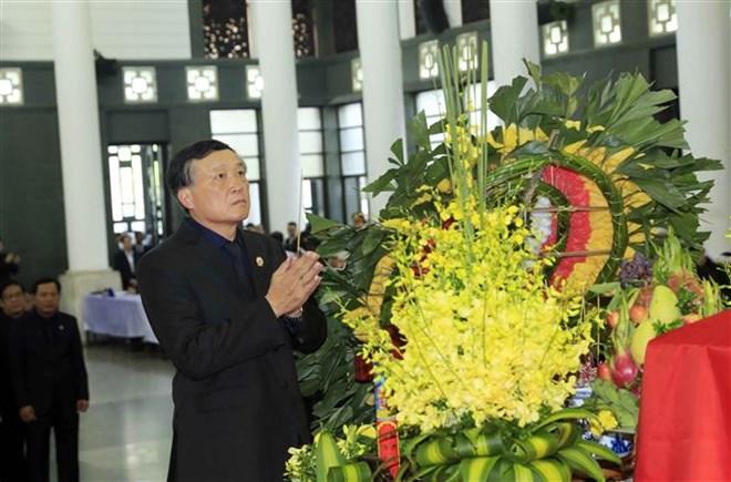 Lễ viếng Chủ tịch nước Trần Đại Quang - Ảnh 5
