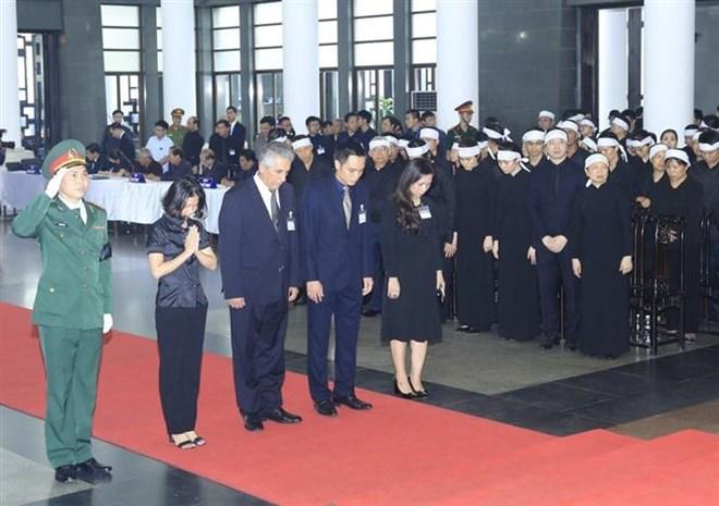 Lễ viếng Chủ tịch nước Trần Đại Quang - Ảnh 6