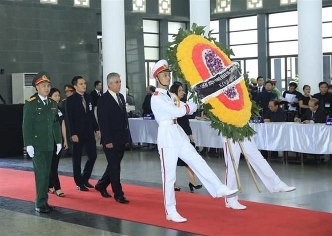 Lễ viếng Chủ tịch nước Trần Đại Quang - Ảnh 7