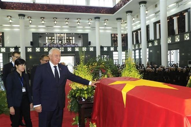 Lễ viếng Chủ tịch nước Trần Đại Quang - Ảnh 12