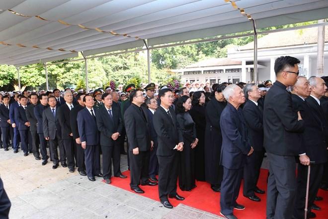 Lễ viếng Chủ tịch nước Trần Đại Quang - Ảnh 77