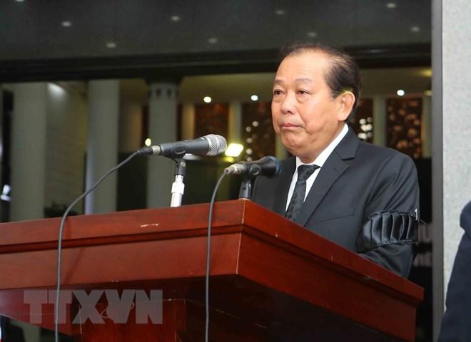 Lễ viếng Chủ tịch nước Trần Đại Quang - Ảnh 78