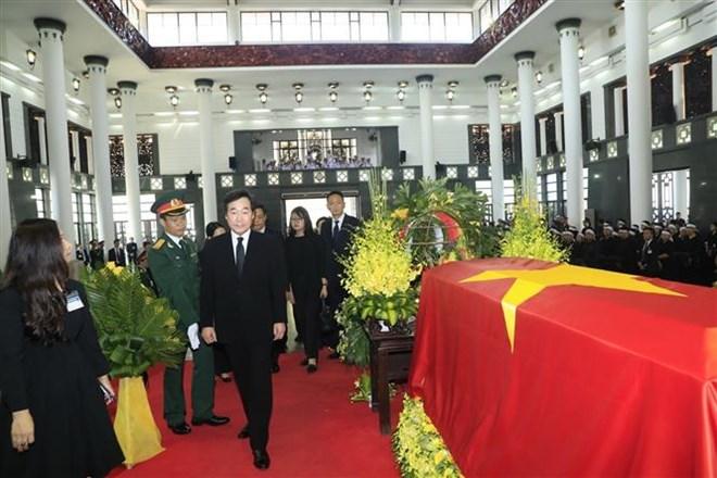 Lễ viếng Chủ tịch nước Trần Đại Quang - Ảnh 15
