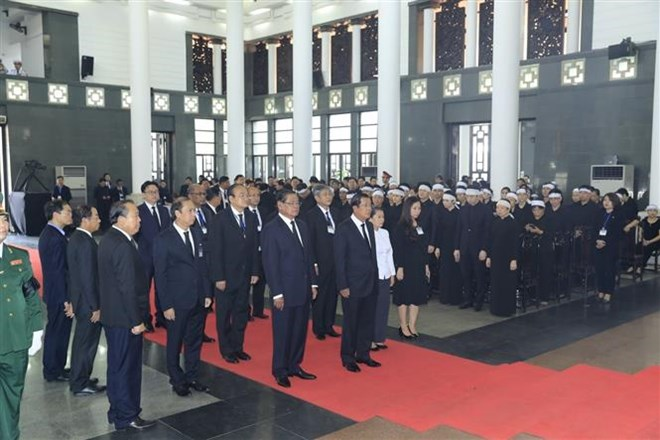 Lễ viếng Chủ tịch nước Trần Đại Quang - Ảnh 24