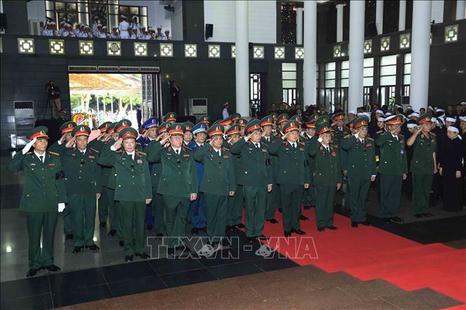 Nhiều đoàn lãnh đạo các nước đến viếng Chủ tịch nước Trần Đại Quang - Ảnh 3