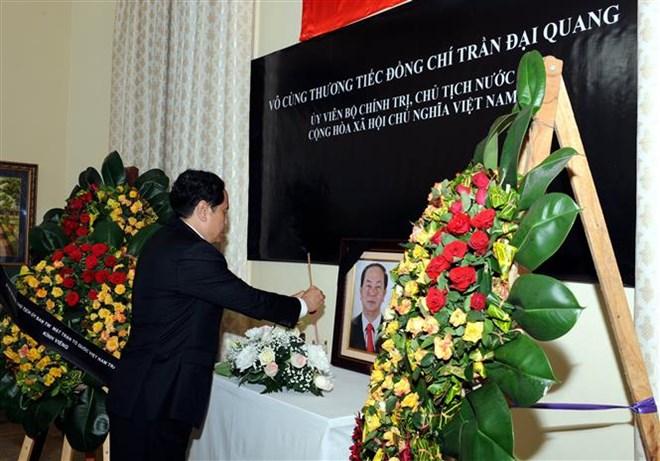 Lễ viếng Chủ tịch nước Trần Đại Quang - Ảnh 26