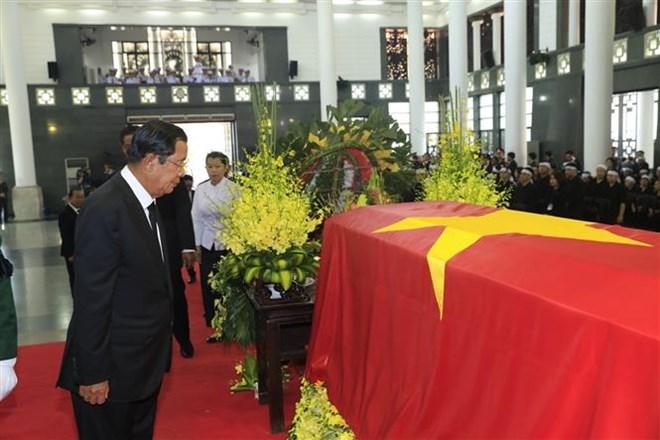 Lễ viếng Chủ tịch nước Trần Đại Quang - Ảnh 25