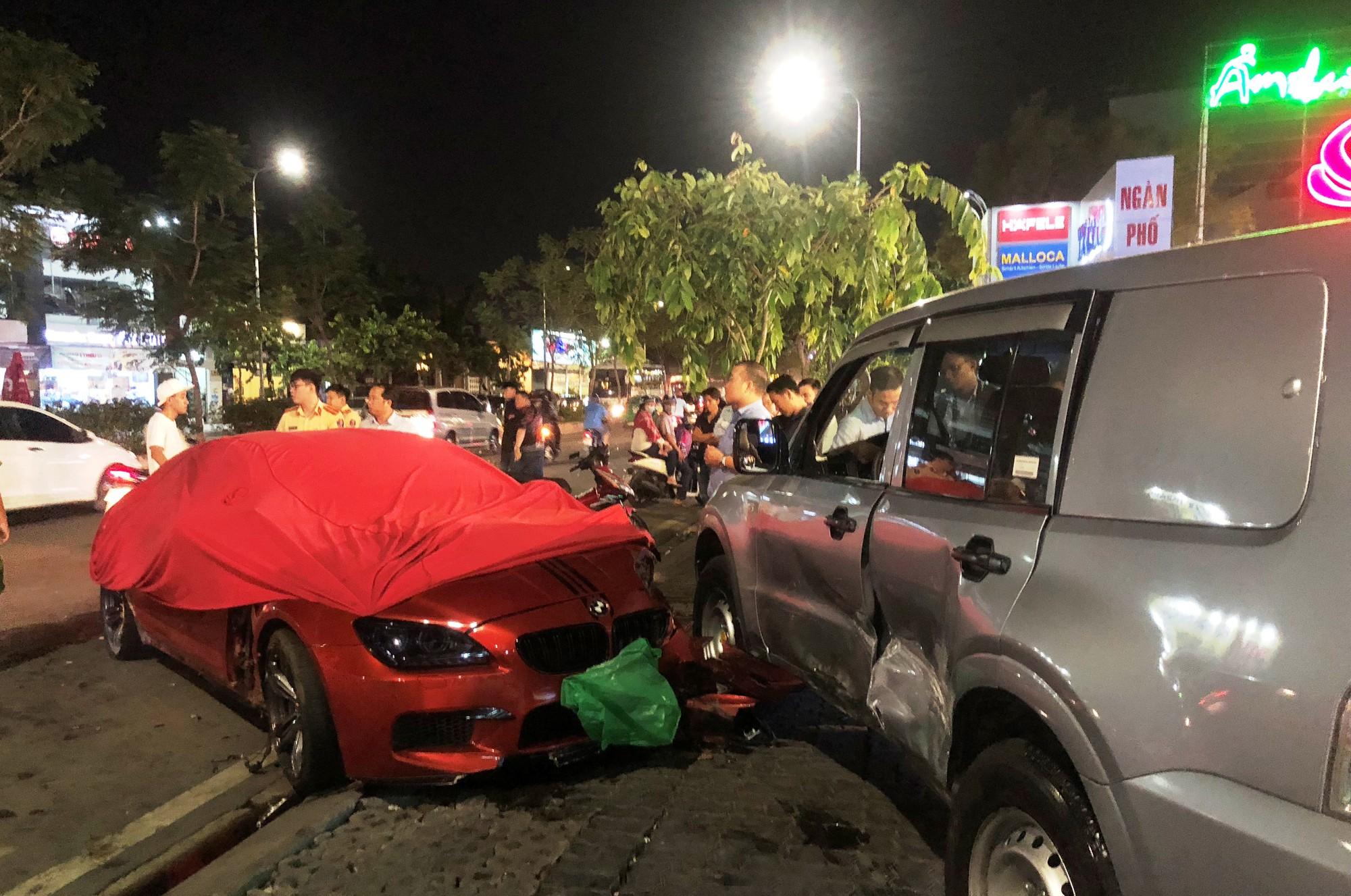 Vụ xe BMW 7 tỷ gây tai nạn liên hoàn: Bất ngờ lời khai của tài xế 9X - Ảnh 1