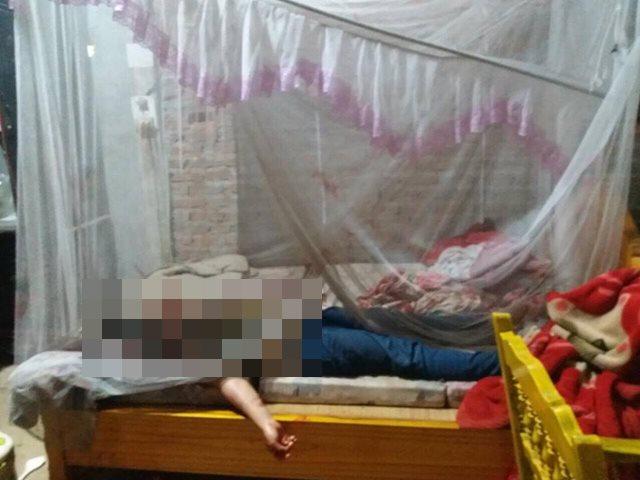 Án mạng kinh hoàng ở Yên Bái: Chồng dùng dao sát hại vợ ngay trên giường - Ảnh 1