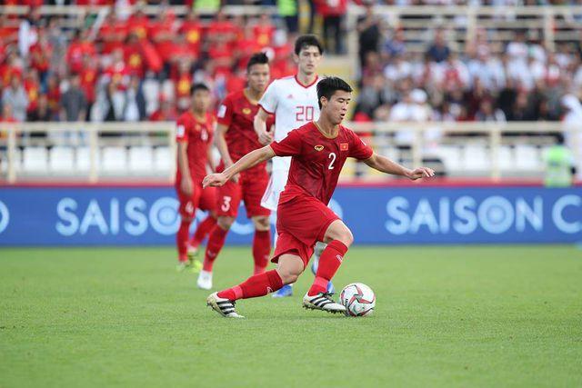 Asian Cup 2019: Nhận 2 thẻ vàng, Duy Mạnh có góp mặt trong trận gặp Jordan? - Ảnh 1