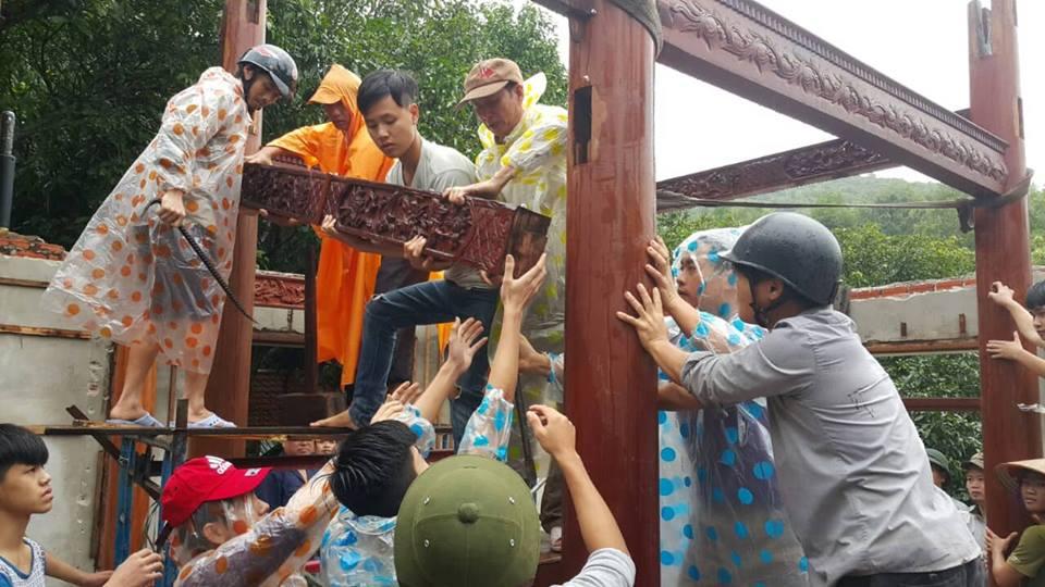 Hoàn tất tháo dỡ biệt phủ trái phép của đại gia vàng ở Đà Nẵng - Ảnh 2