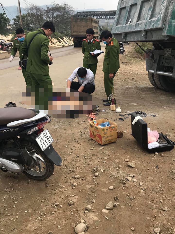 Tai nạn giao thông ở Lào Cai, người đàn ông chết thảm dưới gầm xe tải - Ảnh 2