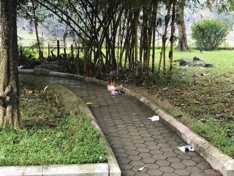 Tình tiết mới vụ thi thể người phụ nữ trẻ bán khỏa thân ở vườn hoa Hà Đông - Ảnh 1