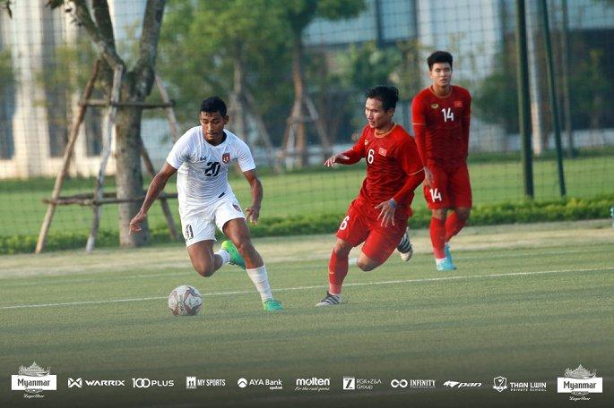 U22 Việt Nam hòa Myanmar với tỷ số 2-2 - Ảnh 2