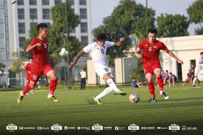 U22 Việt Nam hòa Myanmar với tỷ số 2-2 - Ảnh 3
