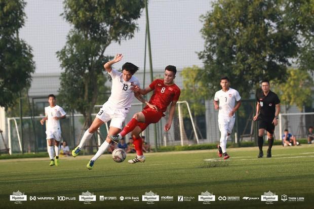 U22 Việt Nam hòa Myanmar với tỷ số 2-2 - Ảnh 4