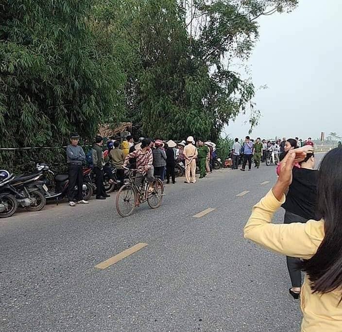 Phú Thọ: Con trai bắn 4 phát súng sát hại bố, giấu xác trong bụi cây - Ảnh 1