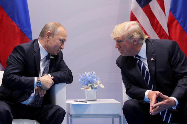 Tổng thống Trump cân nhắc sang Nga dự duyệt binh - Ảnh 1