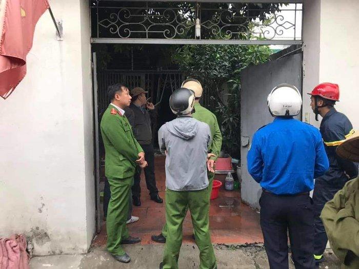 Cháy nhà lúc sáng sớm ở Hà Nội, 3 bà cháu tử vong - Ảnh 1
