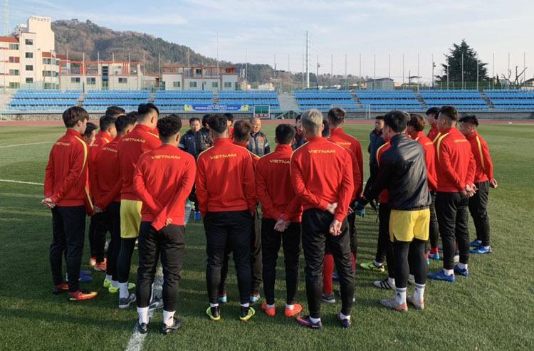 """HLV Park Hang-seo yêu cầu cầu thủ U23 Việt Nam """"trở lại mặt đất"""" khi tới Hàn Quốc - Ảnh 2"""