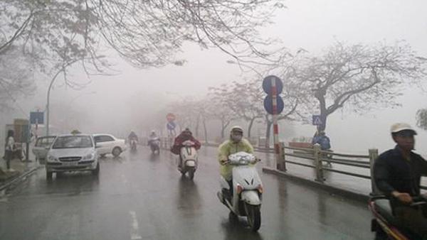 Hôm nay miền Bắc mưa rét, có nơi dưới 10 độ - Ảnh 1