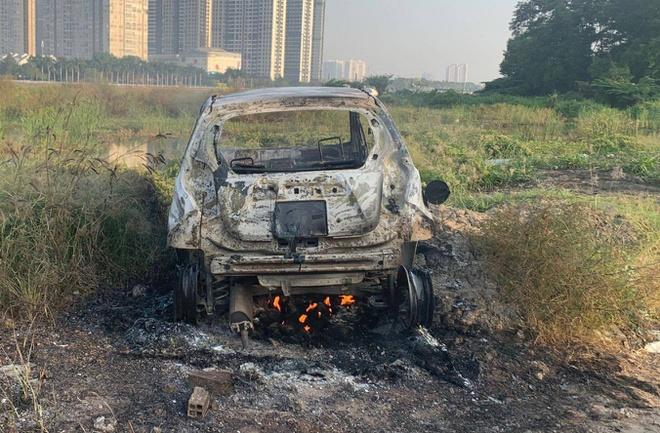Nghi án người phụ nữ Hàn Quốc bị sát hại, đốt ô tô phi tang ở TP.HCM - Ảnh 1
