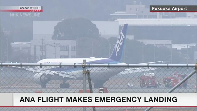 Máy bay Boeing chở 278 người cháy động cơ trên không - Ảnh 1