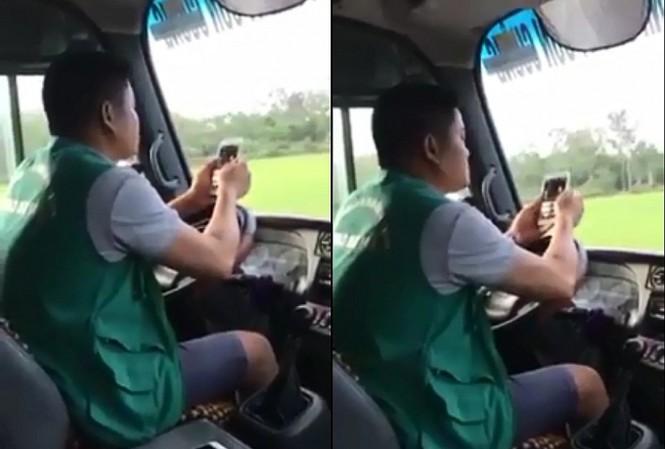 Dùng khuỷu tay lái xe, tài xế xe buýt sẽ bị phạt 700 nghìn đồng - Ảnh 1