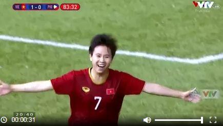 """Hạ gục Philippines, tuyển nữ Việt Nam gặp """"kình địch"""" Thái Lan ở chung kết SEA Games 30 - Ảnh 3"""