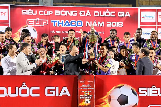 Đánh bại Bình Dương, Hà Nội FC đoạt Siêu Cúp Quốc gia - Ảnh 2