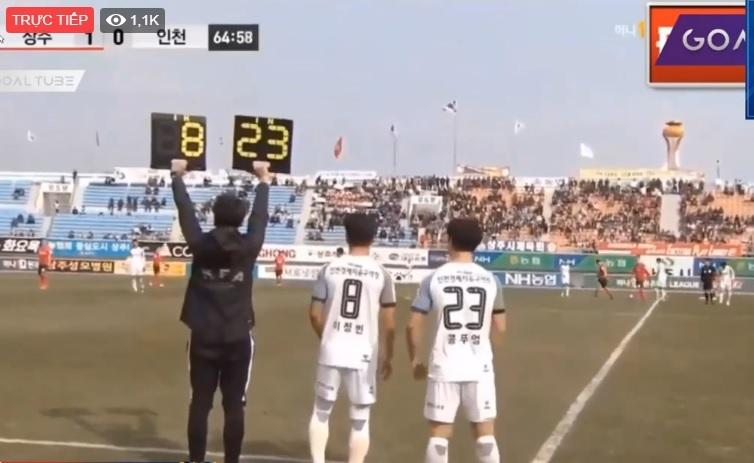 Công Phượng suýt cứu nguy cho Incheon United trước đối thủ Sangju Sangmu - Ảnh 1