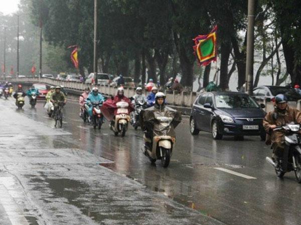 Dự báo thời tiết ngày 4/3: Hà Nội có mưa rào - Ảnh 1