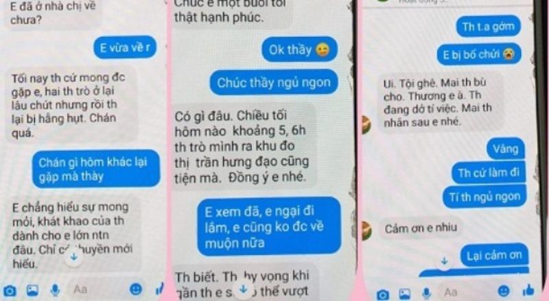 """Làm rõ nghi án thầy giáo trường chuyên Thái Bình nhắn tin """"gạ tình"""" nữ sinh lớp 10 - Ảnh 1"""