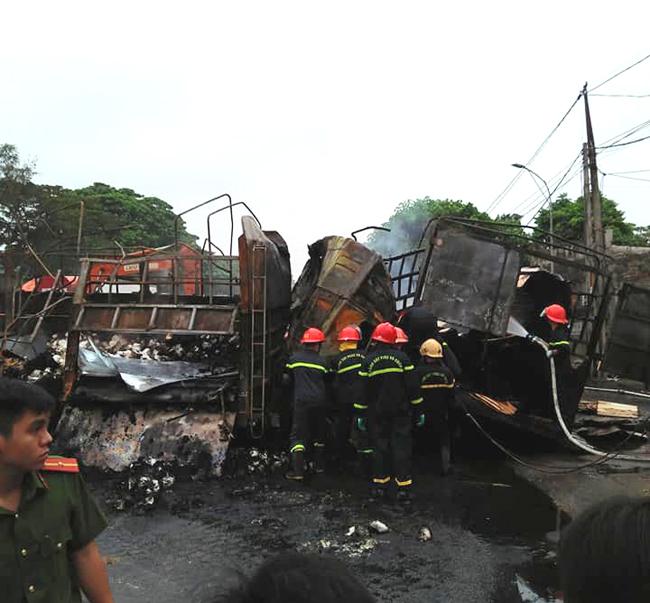 Vụ tai nạn trên Quốc lộ 1A, 2 người bị thiêu cháy: Danh tính nạn nhân - Ảnh 2