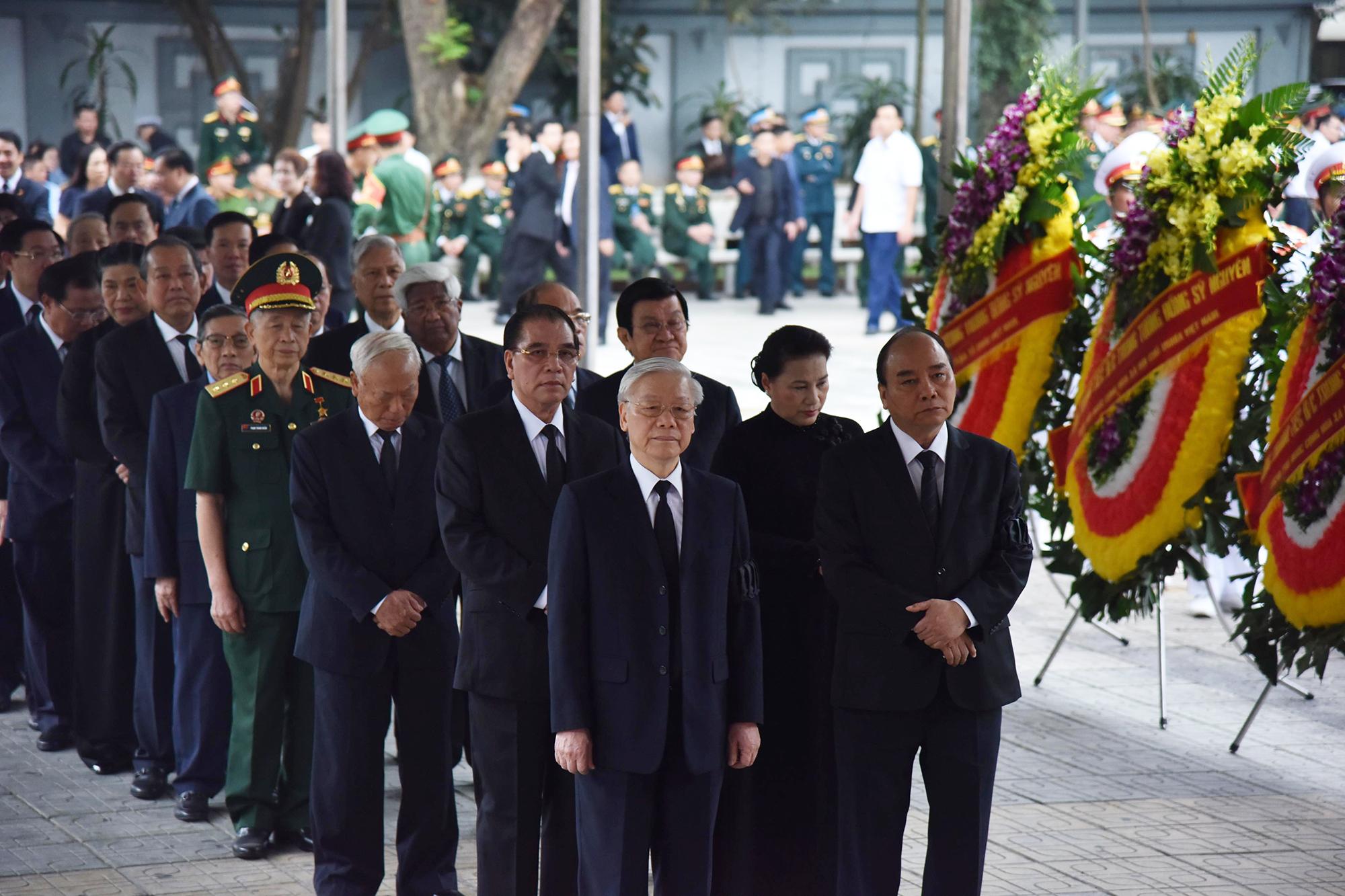 Tổ chức trọng thể Lễ tang đồng chí Đồng Sỹ Nguyễn - Ảnh 1