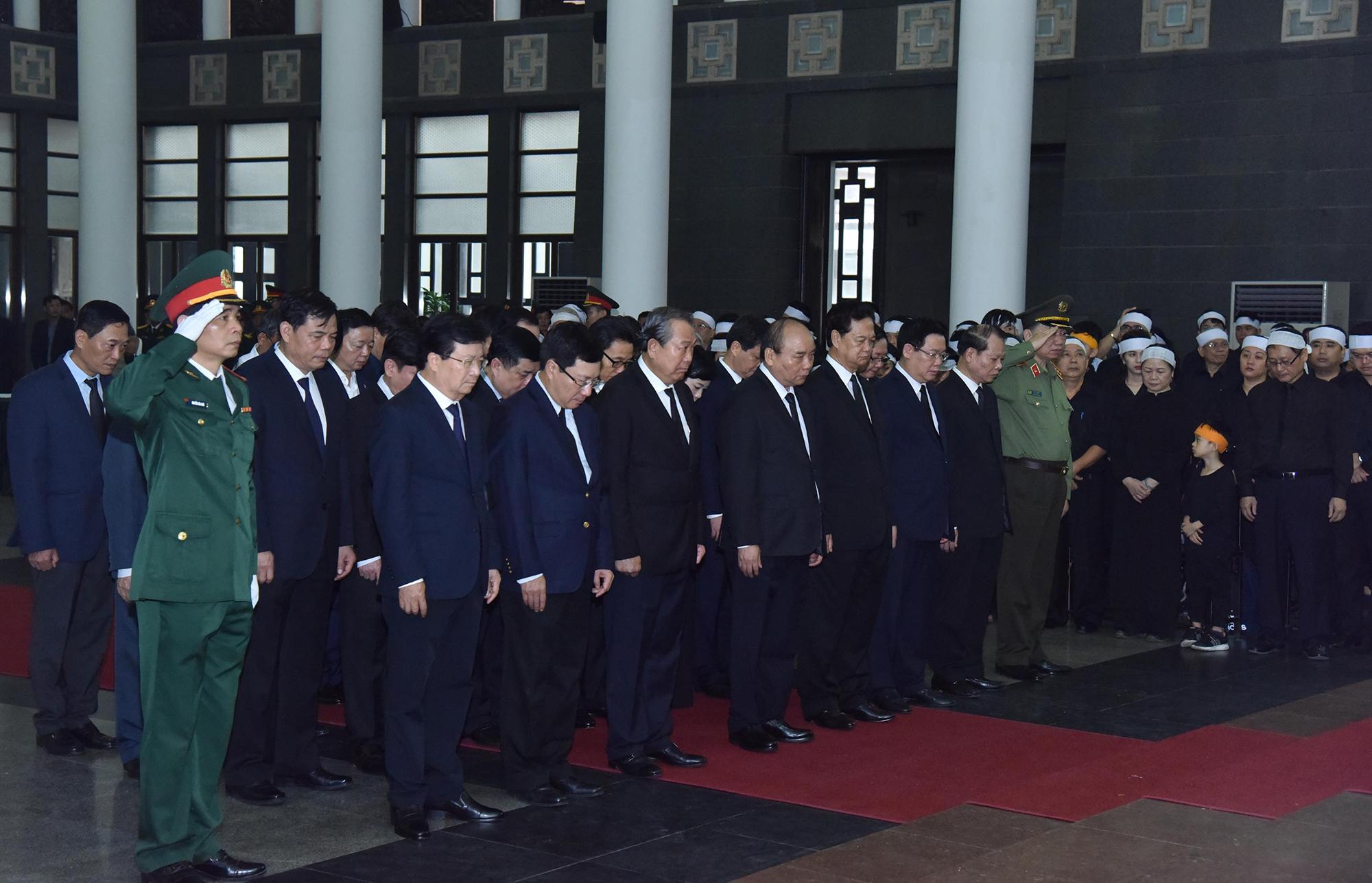Tổ chức trọng thể Lễ tang đồng chí Đồng Sỹ Nguyễn - Ảnh 3